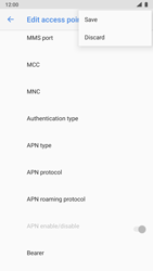 Nokia 8 - Android Pie - MMS - Manual configuration - Step 16