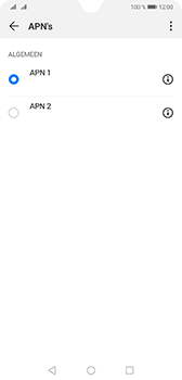 Huawei Mate 20 - Internet - Handmatig instellen - Stap 15