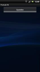 Sony Xperia Neo - E-mail - E-mails verzenden - Stap 11