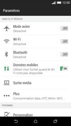 HTC Desire 610 - Internet et connexion - Désactiver la connexion Internet - Étape 4