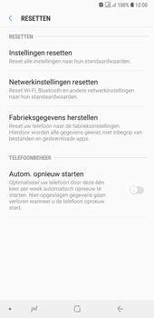 Samsung Galaxy A7 (2018) - Toestel reset - terugzetten naar fabrieksinstellingen - Stap 6