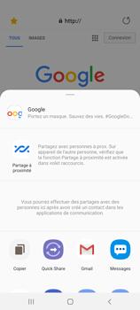 Samsung Galaxy Note20 - Internet et connexion - Naviguer sur internet - Étape 22
