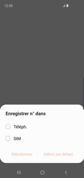 Samsung Galaxy S10e - Contact, Appels, SMS/MMS - Ajouter un contact - Étape 5