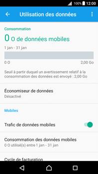 Sony Xperia Z5 Premium (E6853) - Android Nougat - Internet - Désactiver les données mobiles - Étape 5
