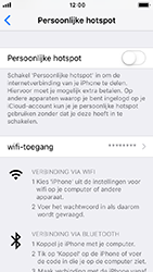 Apple iphone-se-met-ios-12-model-a1723 - WiFi - Mobiele hotspot instellen - Stap 4