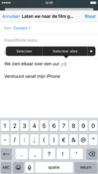 Apple iPhone 6s - e-mail - hoe te versturen - stap 9
