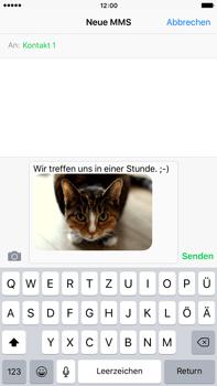 Apple iPhone 6 Plus mit iOS 9 - MMS - Erstellen und senden - Schritt 15