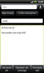 HTC S510e Desire S - E-mail - E-mails verzenden - Stap 8