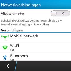 BlackBerry Q5 - netwerk en bereik - gebruik in binnen- en buitenland - stap 5