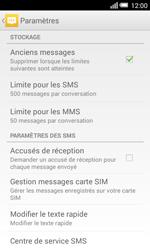 Alcatel Pop S3 (OT-5050X) - SMS - configuration manuelle - Étape 9