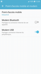 Samsung Galaxy S7 - Internet et connexion - Utiliser le mode modem par USB - Étape 8