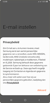 Samsung galaxy-a7-dual-sim-sm-a750fn-android-pie - E-mail - 032c. Email wizard - Outlook - Stap 10