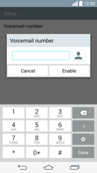 LG G3 (D855) - Voicemail - Manual configuration - Step 8