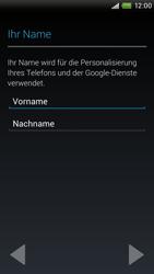 HTC One X - Apps - Einrichten des App Stores - Schritt 6