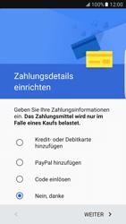 Samsung Galaxy S7 Edge - Apps - Einrichten des App Stores - Schritt 18
