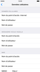 Apple iPhone 6s iOS 10 - Internet - configuration manuelle - Étape 8