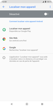 Sony Xperia XZ3 - Appareil - configurer Localiser mon appareil - Étape 7