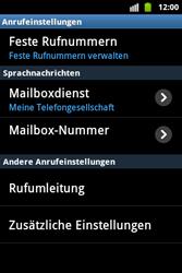 Samsung Galaxy Ace - Anrufe - Rufumleitungen setzen und löschen - 5 / 9