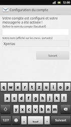 Sony Xperia S - E-mail - Configuration manuelle - Étape 15