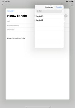 Apple iPad Pro 11 inch 2nd generation (2020) (Model A2230) - E-mail - Hoe te versturen - Stap 5