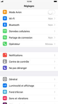 Apple iPhone 6 Plus - iOS 11 - Internet et connexion - Partager votre connexion en Wi-Fi - Étape 3