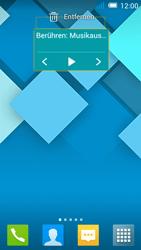 Alcatel Pop C7 - Startanleitung - Installieren von Widgets und Apps auf der Startseite - Schritt 7