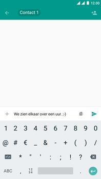 OnePlus 3 - Android Oreo - MMS - Afbeeldingen verzenden - Stap 9