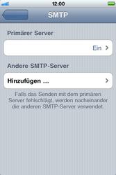 Apple iPhone 3G - E-Mail - Konto einrichten - Schritt 14