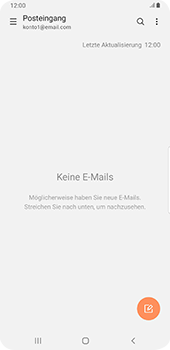 Samsung Galaxy S9 Plus - Android Pie - E-Mail - E-Mail versenden - Schritt 5