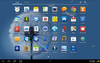 Samsung N8020 Galaxy Note 10-1 LTE - Internet - Handmatig instellen - Stap 2