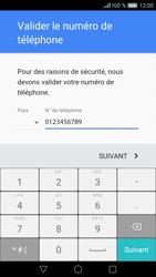 Huawei Honor 5X - Applications - Créer un compte - Étape 7