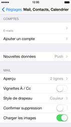 Apple iPhone 5s - E-mail - configuration manuelle - Étape 18