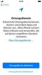 Apple iPhone SE - iOS 11 - Persönliche Einstellungen von einem alten iPhone übertragen - 20 / 29