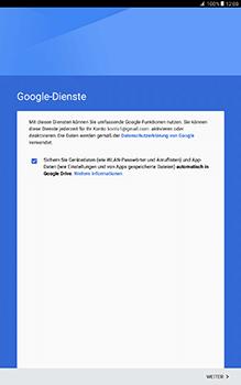 Samsung Galaxy Tab A 10.1 - E-Mail - Konto einrichten (gmail) - 2 / 2