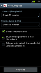 Samsung I9300 Galaxy S III - E-mail - Handmatig instellen - Stap 17