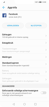 Huawei P Smart Plus - apps - apps afsluiten - stap 6