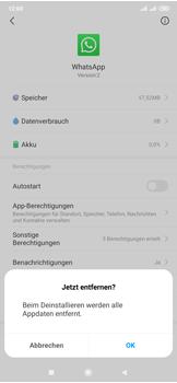 Xiaomi Mi Mix 3 5G - Apps - Eine App deinstallieren - Schritt 6
