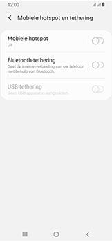 Samsung Galaxy A40 - Internet - mijn data verbinding delen - Stap 6