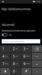 Acer Liquid M330 - Voicemail - Handmatig instellen - Stap 8