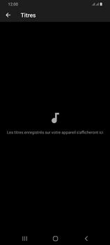 Samsung Galaxy A42 5G - Photos, vidéos, musique - Ecouter de la musique - Étape 8