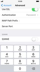 Apple iPhone 5s - iOS 11 - E-mail - Manual configuration - Step 26