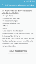 Samsung Galaxy J5 (2016) - Fehlerbehebung - Handy zurücksetzen - 9 / 14
