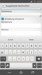 Sony Xperia Z3 Compact - E-Mail - Konto einrichten - 0 / 0