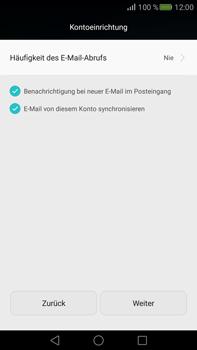 Huawei Mate S - E-Mail - Konto einrichten - Schritt 16