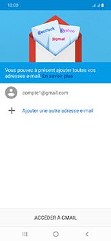 Samsung Galaxy A20e - E-mails - Ajouter ou modifier votre compte Gmail - Étape 13