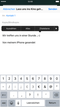 Apple iPhone 6s Plus - E-Mail - E-Mail versenden - 2 / 2