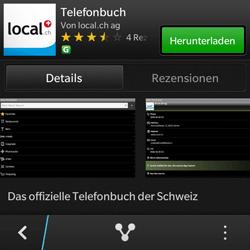 BlackBerry Q10 - Apps - Installieren von Apps - Schritt 7