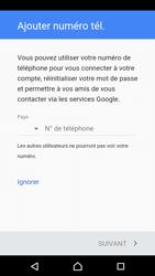 Sony Xperia X Compact (F5321) - Applications - Créer un compte - Étape 14
