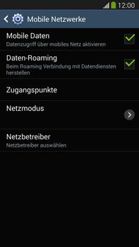 Samsung Galaxy Note III LTE - Internet und Datenroaming - Deaktivieren von Datenroaming - Schritt 6
