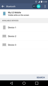 LG H815 G4 - Bluetooth - Pair with another device - Step 7